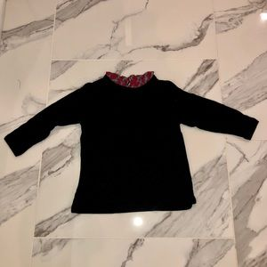 Girls Crewcuts Ruffle Collar Sweater